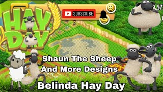 🌸Hay Day🌸Shaun The Sheep And More Design🌸