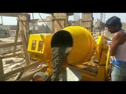 350L Portable concrete mixer mini cement mixer China manufacturer