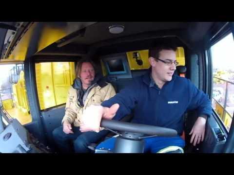 Driving Komatsu 860E(Boertjie Style)