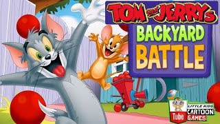 Tom and Jerry - Backyard Battle. Fun Tom and Jerry 2019 Games. Baby Games #LITTLEKIDS