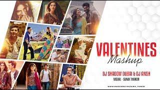 Download Valentines Mashup 2019 ❤ DJ Shadow Dubai & DJ Ansh | Sunix Thakor |Best Romantic Songs Mp3 and Videos