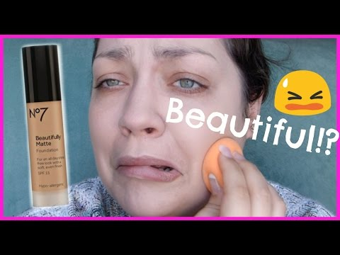 Let's Test!: No7 Beautifully Matte Foundation