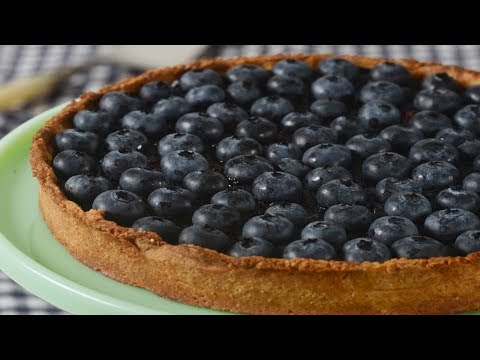 Blueberry Tart Recipe Demonstration - Joyofbaking.com