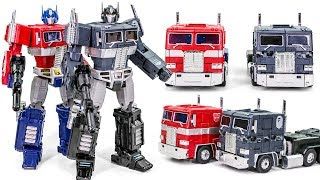 Transformers G1 MASTER PIECE KO MP 10K Optimus Prime Convoy Bape Blackcamo Vehicle Robot Car Toys