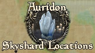 ESO: Auridon All Skyshard Locations (updated for Tamriel Unlimited)