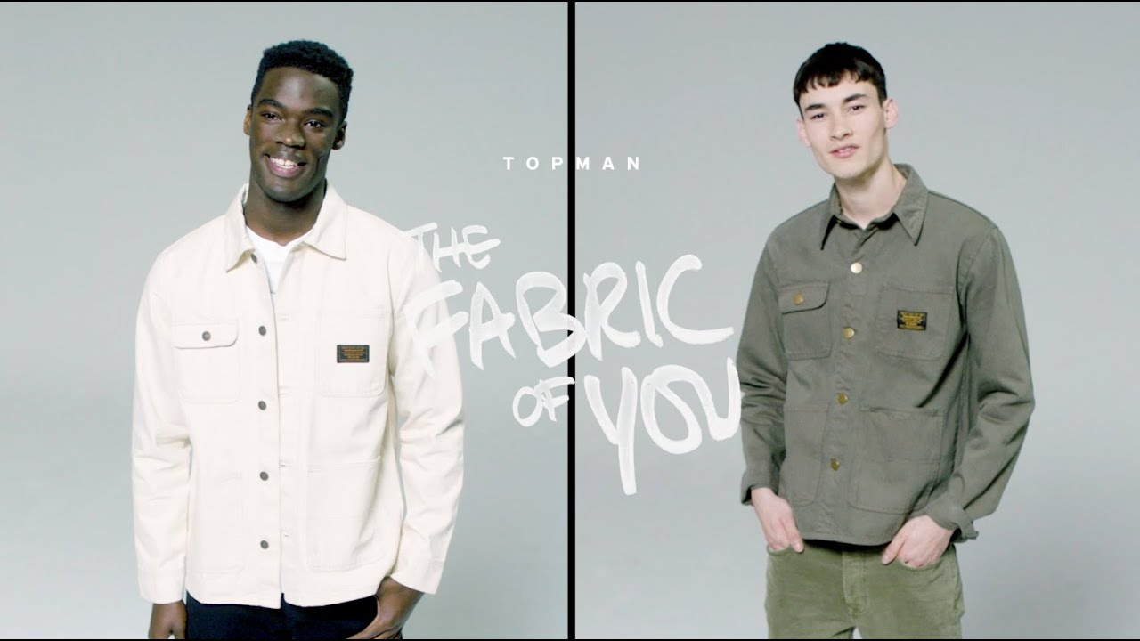 THE FABRIC OF YOU | TOPMAN JEANS CAMPAIGN 2020