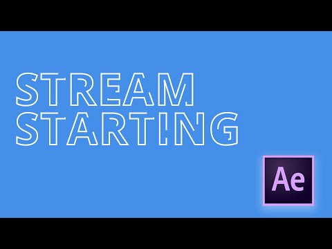 After Effects Tutorial: Stroke Text Reveal Outline Effect With Trim Paths