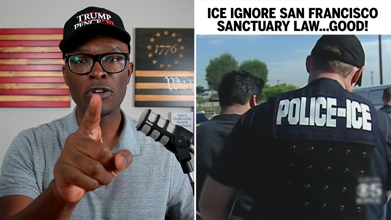 ICE Agents IGNORE San Francisco Sanctuary Law, ARREST At Courthouse!
