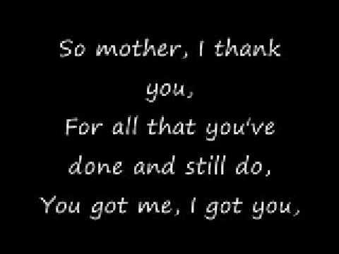 Oh mother-Christina Aguilera