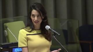 Amal Clooney's Speech at UN Event, 9 March 2017