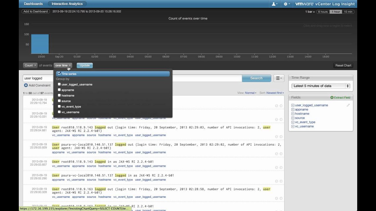 Creating a Content Pack in VMware vRealize Log Insight