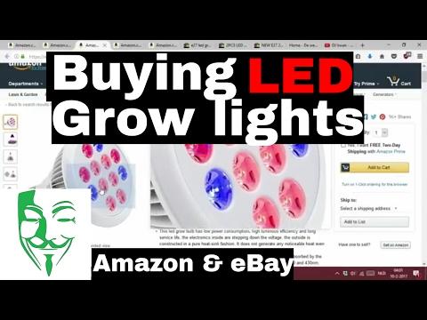 Buying LED grow lights! Everything you NEED  to grow WEED!! Autoflower Micro grow PC grow box