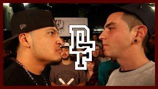 LUNAR C VS UNO LAVOZ | Don't Flop Rap Battle