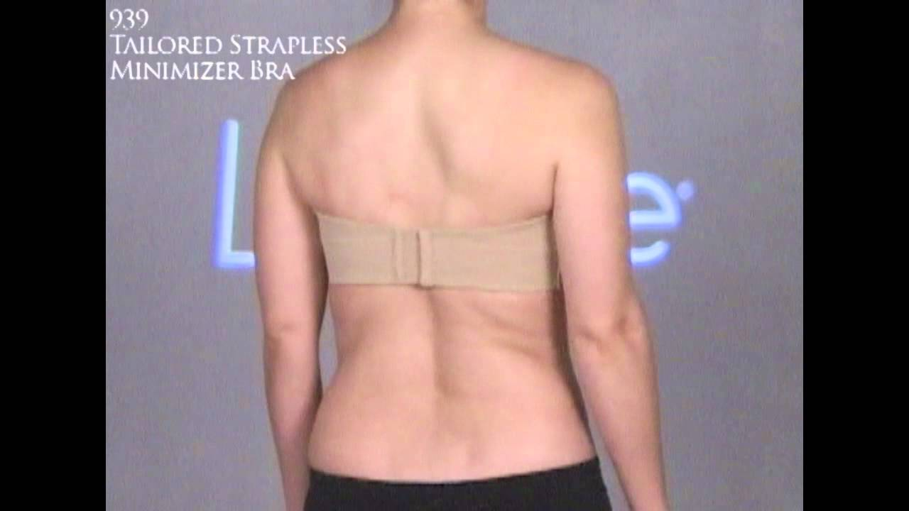 2009 Lilyette - Strapless Minimizer Bra - YouTube