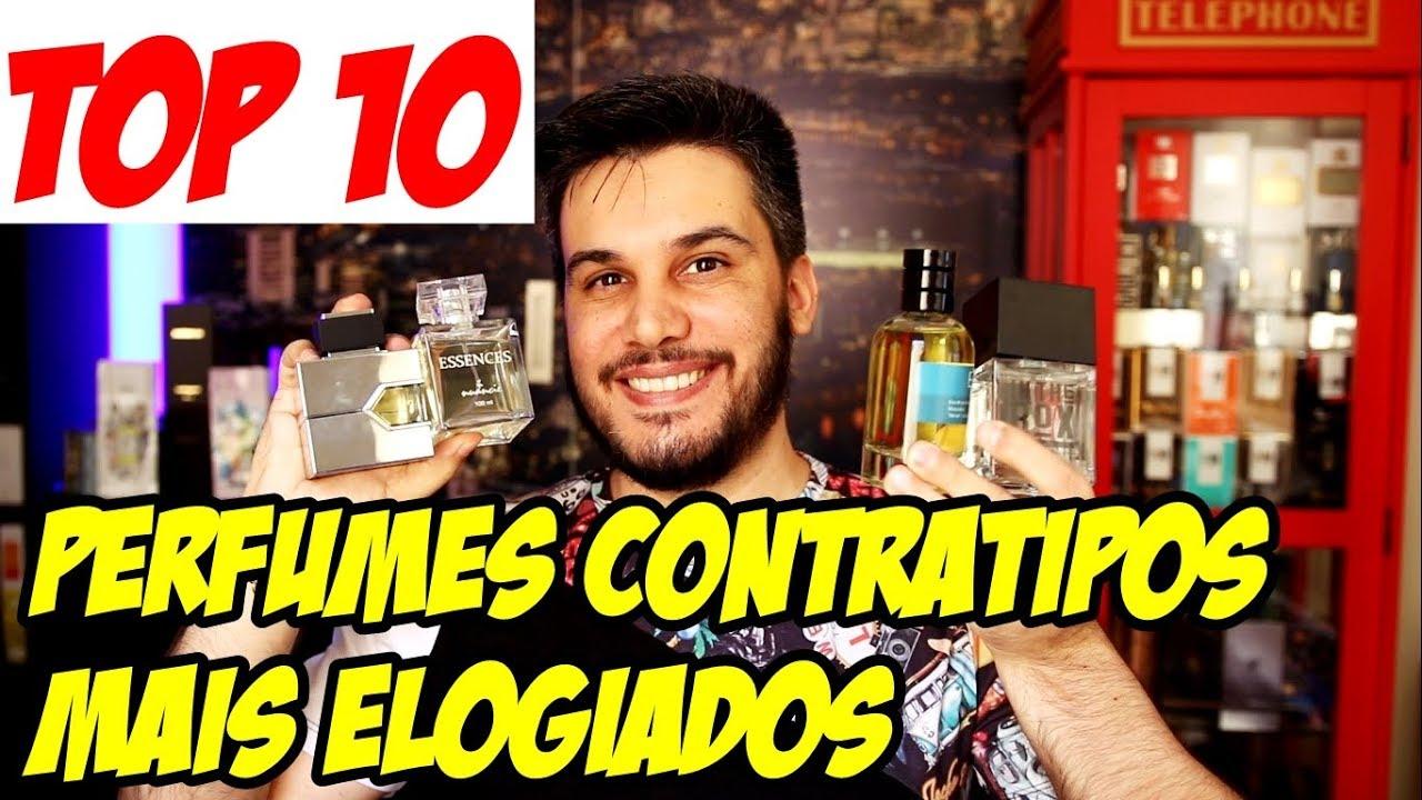 f24c9933ddf PERFUMES CONTRATIPOS MAIS ELOGIADOS DA MINHA COLEÇÃO - TOP 10 - YouTube