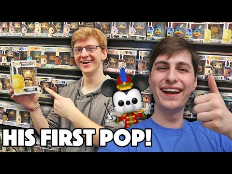 I Bought My Best Friend His First Funko Pop