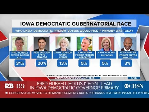 Will a Democrat be able to unseat Iowa Gov. Kim Reynolds?