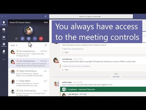 How to move around during a Microsoft Teams meeting thumbnail