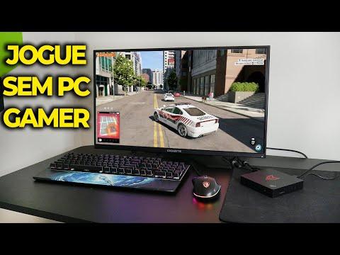 JOGAR GAMES PESADOS SEM TER PC GAMER, TESTEI O GEFORCE NOW EM JOGOS! (em 2021) thumbnail
