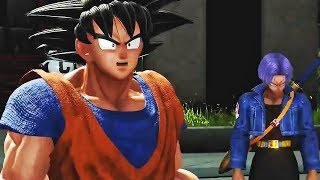 JUMP FORCE - Official Launch Trailer & NEW Story Mode Gameplay (XB1, PS4, PC)