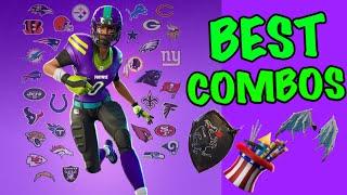 Fortnite NFL Skin Combos! - Fortnite Battle Royale - MarcLive