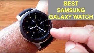 2018 Smartwatch Holiday Buyer's Guide: Samsung Galaxy Watch (new Gear S4 Model) 46mm & 42mm