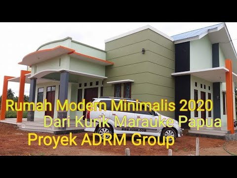 rumah modern minimalis 2020 - youtube