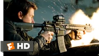 Jack Reacher: Never Go Back (2016) - Heavily Armed Rescue Scene (7/10) | Movieclips
