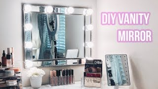 CHEAP & EASY DIY VANITY MIRROR | ONLY $60