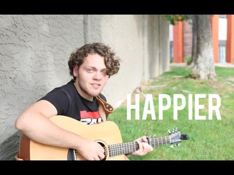 Happier - Ed Sheeran - Aaron Todd (One take, live cover)