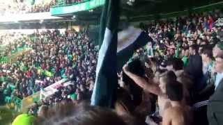 Celtic Fans - GREEN BRIGADE - Uncle Nobbys Steamboat vs Aberdeen