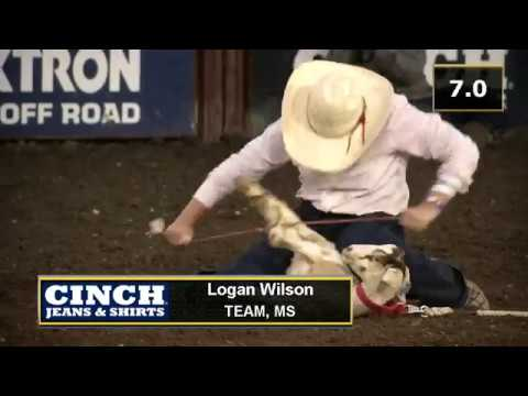 2018 Njhfr Girls Goat Tying Champion Logan Wilson Youtube