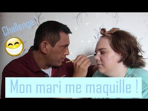 Mon mari me maquille ! Challenge makeup