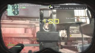 7500-0 in MW3 Drop Zone on Terminal!