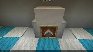 Ванная комната в майнкрафте! Без модов