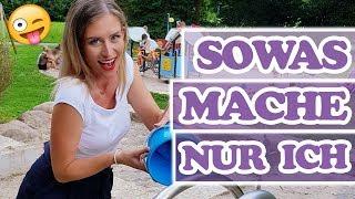Mit wasserfestem Makeup zum Wasserspielplatz OHNE Wasser 😩