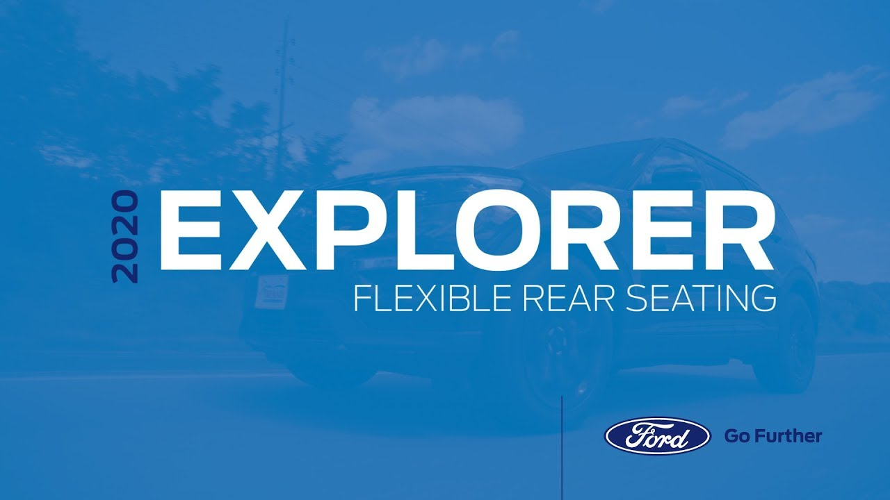 Jim Trenary Ford >> 2020 Ford Explorer Third Row Power Fold Seating | Jim ...