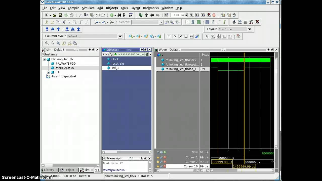 Create your first Verilog based blinking LED with MAX 10 evaluation kit  (Part 3)