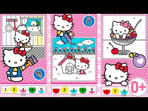 Hello Kitty Livro De Colorir Apps No Google Play