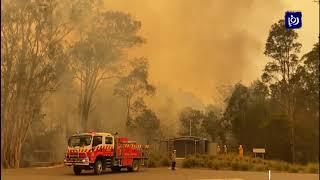 حرائق كارثية تهدد جنوب شرق استراليا (4/1/2020)