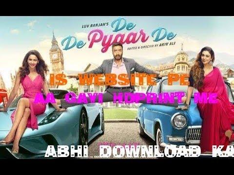 Download how to download *de de pyar de * full movie with hd print
