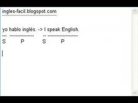 Curso de Inglés 01 - Los pronombres personales