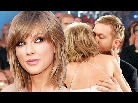 Taylor Swift & Calvin Harris Kiss Billboard Awards 2015