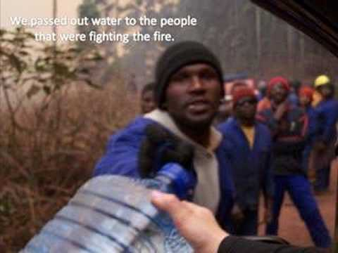 The Swaziland Fires - Bulembu Piggs Peak