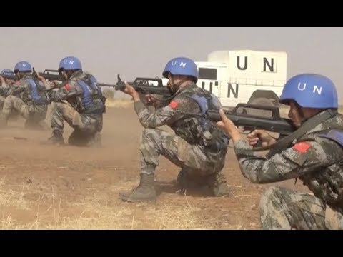 China's Standby Peacekeeping Troops Conduct Drills