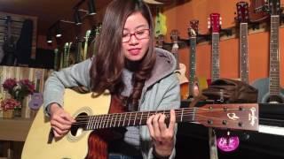 Những cô nàng ham vật chất (guitar) - Nhật Linh Cover | Key Music