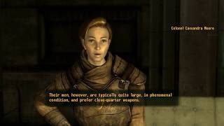 Fallout: New Vegas (PC) - Colonel Moore's Opinion on the Legion