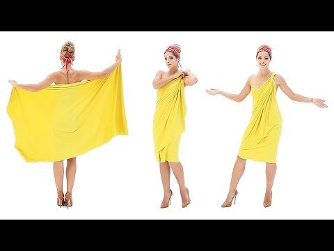 Коктейльное платье (платье-трансформер Лунги)