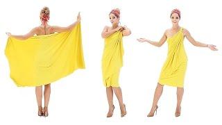 Коктейльное платье (платье-трансформер
