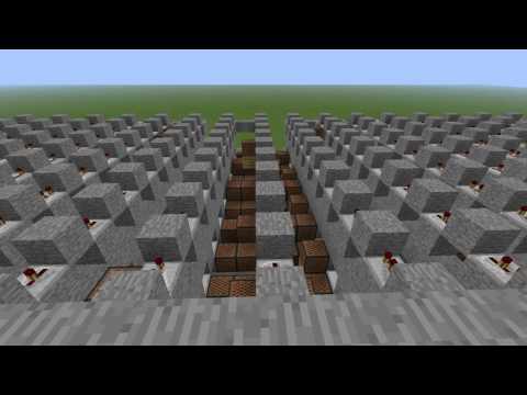 Minecraft Note Blocks TNT ~ ACDC